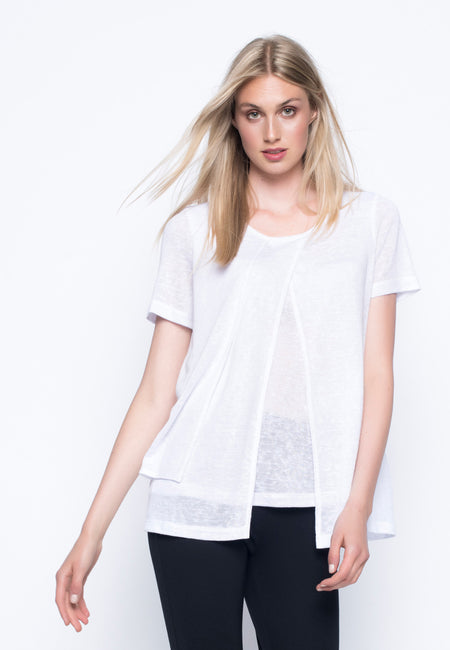 Poncho Top With Slits
