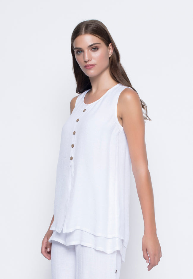 Front Slit Layered Tank