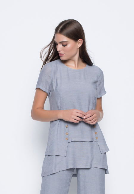 ¾ Sleeve Fitted Dress