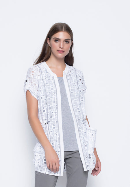 ¾ Sleeve Lace Jacket