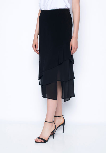 Long Skirt With Side Slit