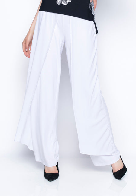 Ruffle Trimmed Pants