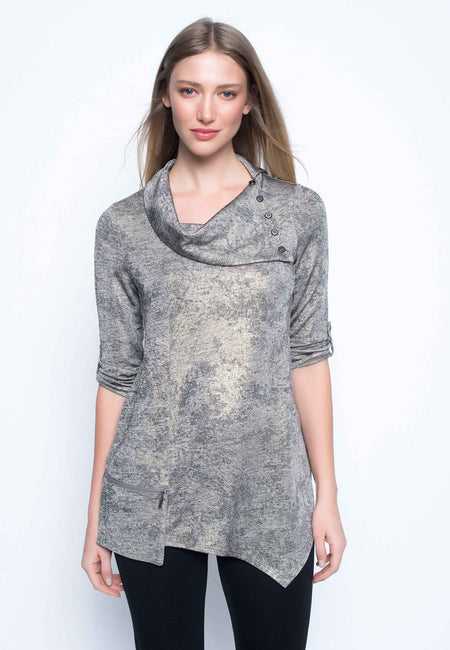Long Sleeve Layered Tunic