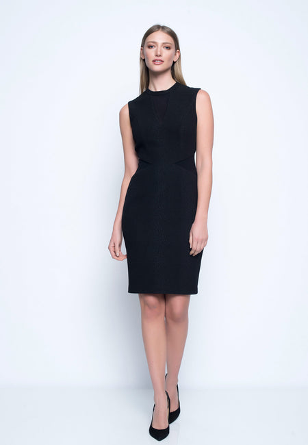 Sleeveless Dress With Keyhole