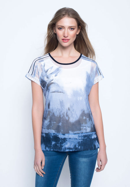 Short Sleeve Custom Print Top