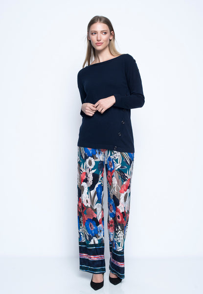 Pull On Wide Leg Pants