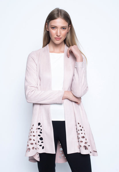 Long Sleeve Jacket With Lace