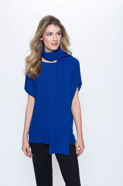 Short Sleeve Top with Side Slit