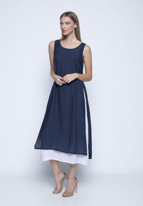 Layered Sleeveless Dress
