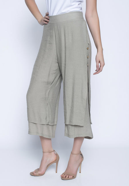 Flowy Cropped Pants