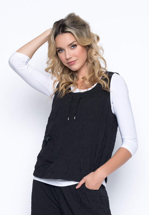1-Pocket Tank With Drawstrings by Picadilly Canada