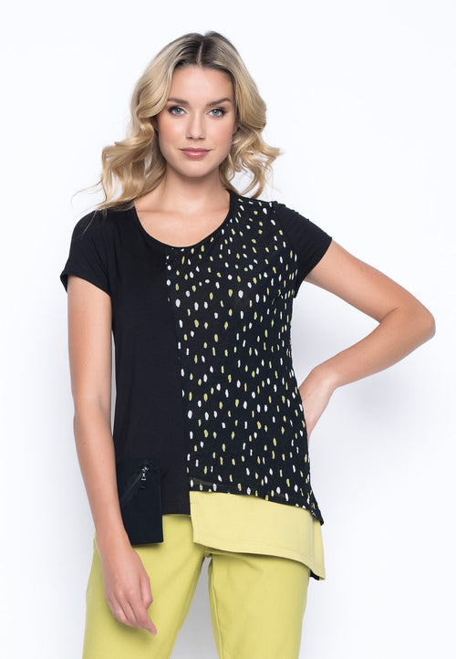 Asymmetric Top With Pocket by Picadilly Canada