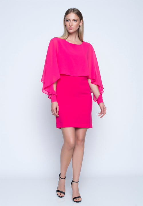 Chiffon Overlay Dress