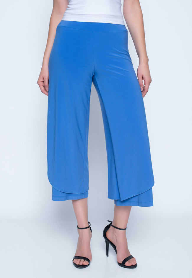Pull-on layered Pants