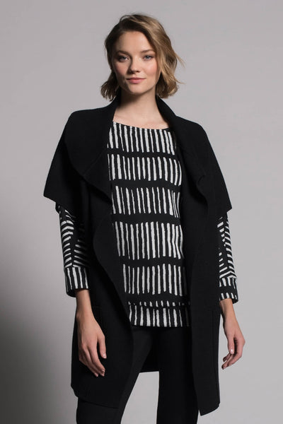 Relaxed Fit Boat Neck Top by picadilly canada