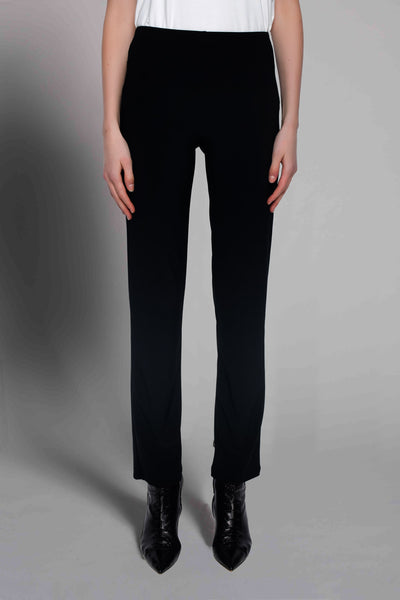 Pull-On Straight Leg Pants by picadilly canada