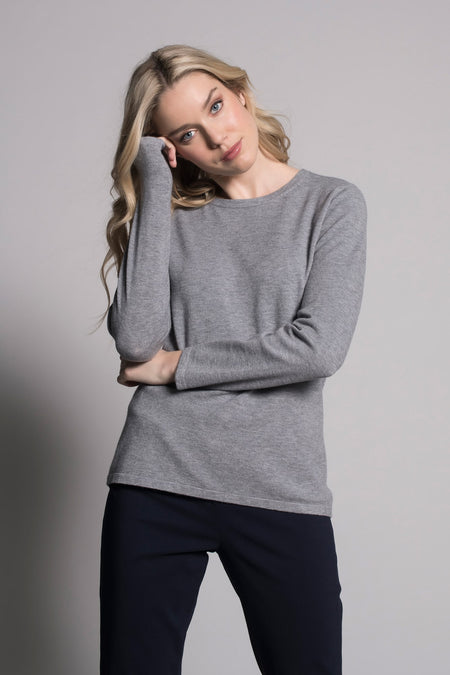 Mock Neck Relaxed Fit Top