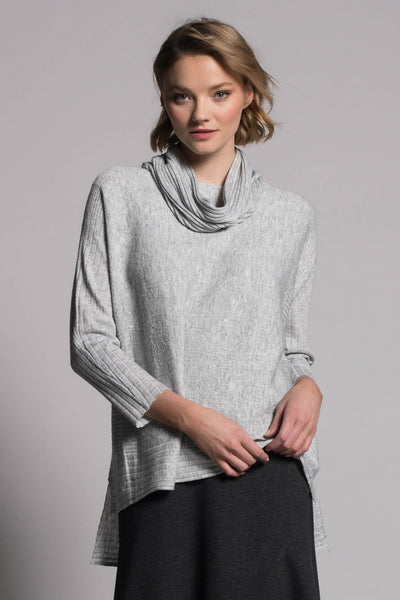 Textured Sweater Top