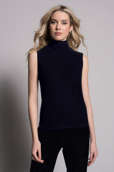 ¾ Sleeve Black Trimmed Top