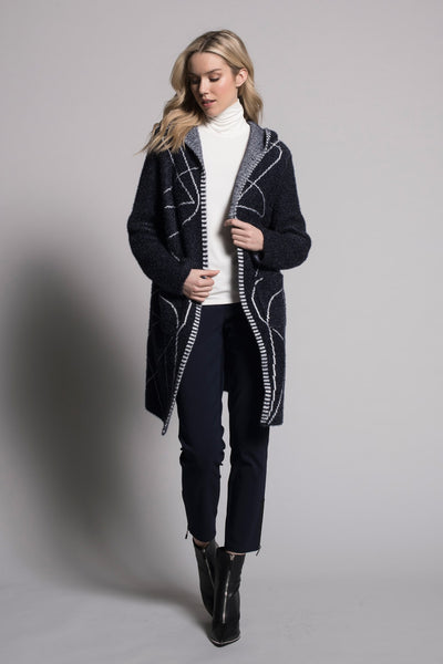 outfit featuring Long Sleeve Hooded Jacket by picadilly canada
