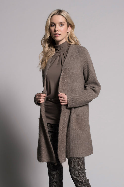 Open Front Jacket With Pockets by picadilly canada