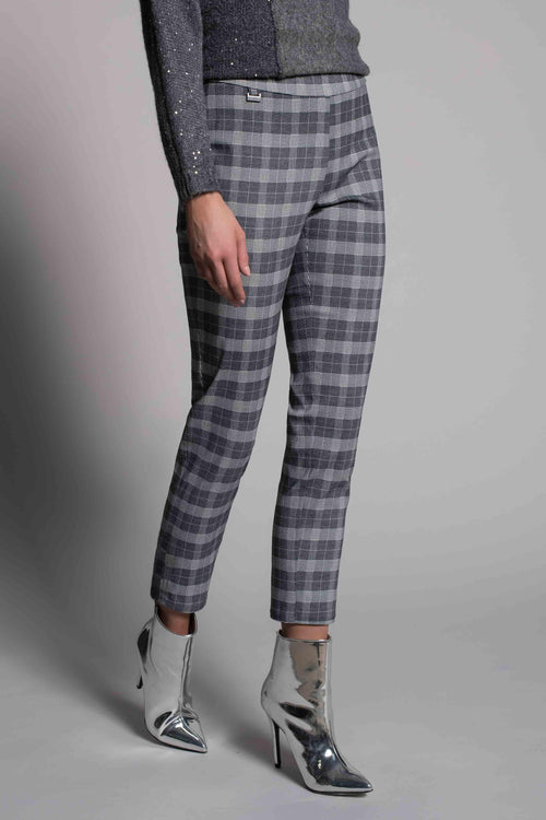 Plaid Printed Ankle Pants by picadilly canada