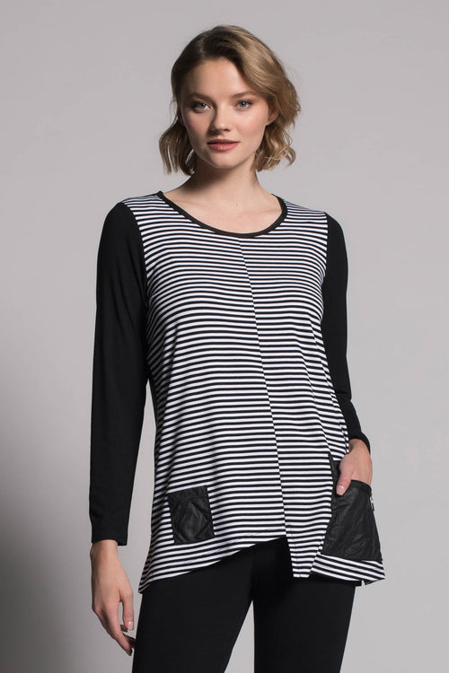 Long Sleeve Top With Pockets