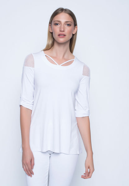 Womens 3/4 Sleeve top