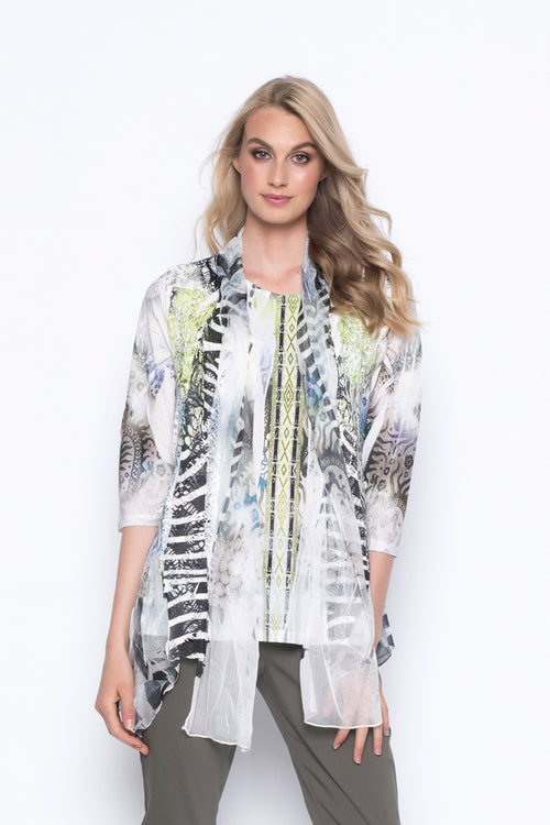 3-4-Sleeve custom print top