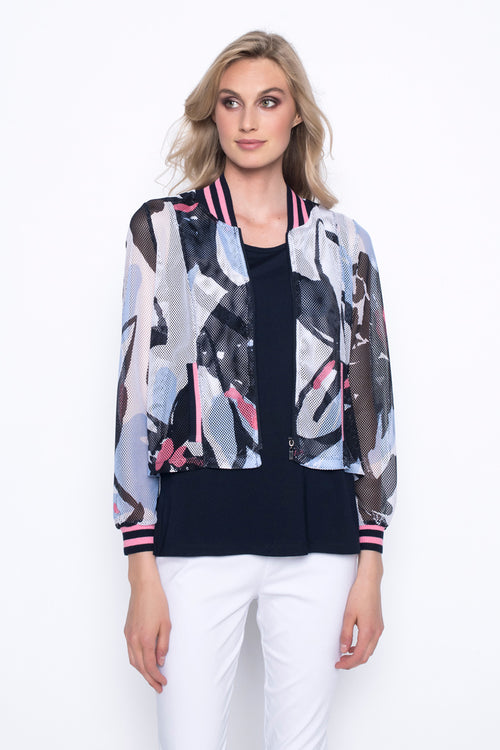 Cropped Bomber Jacket