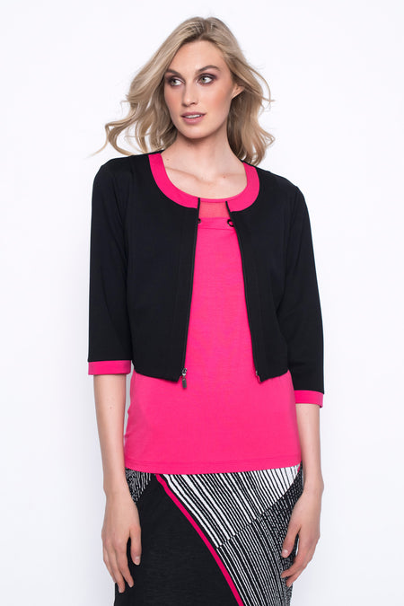 Embellished Asymmetrical Hem Top