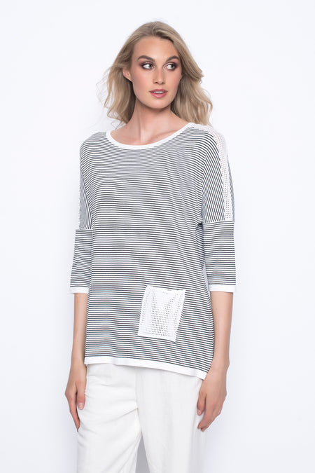 7/8 Sleeve Layered Top