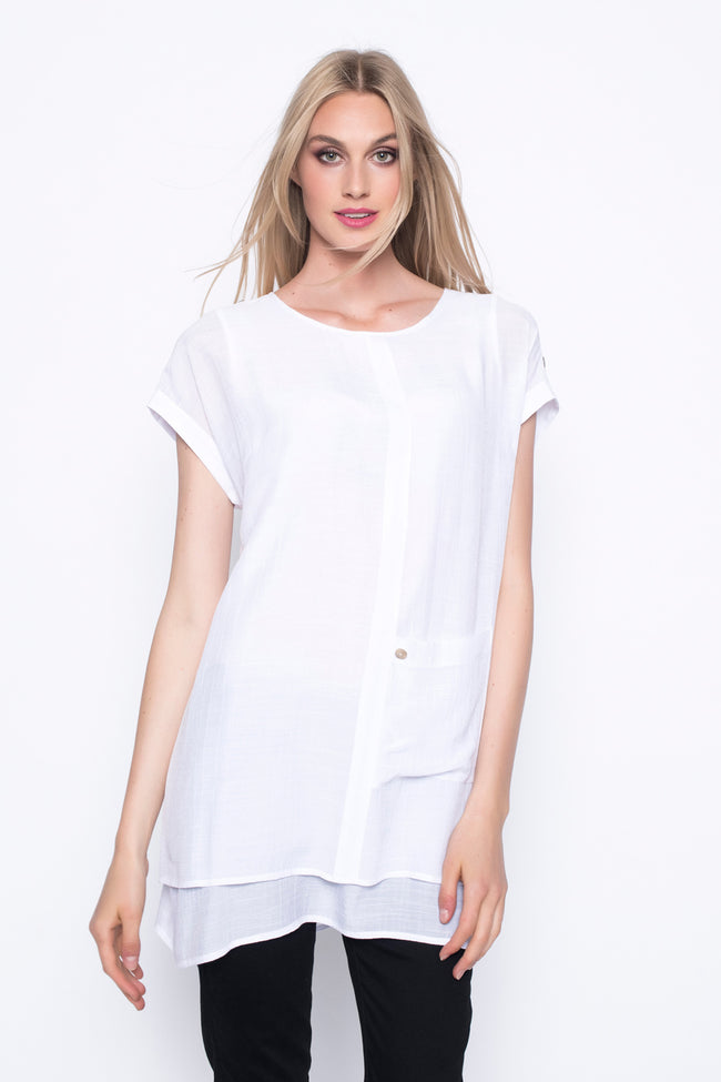 Top With Side Pocket