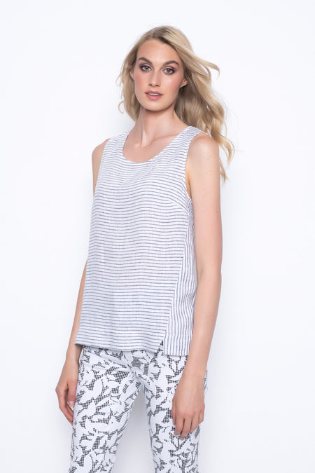 Short Sleeve V-Neck Top With Strap Detail