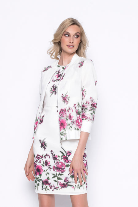 Wildflower ¾ Sleeve Open Front Jacket