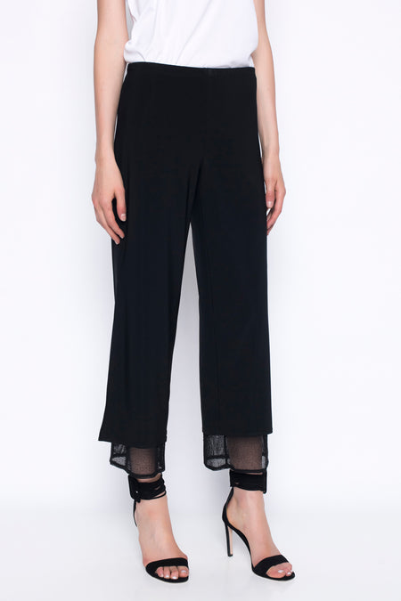Drawstring-Waist Slim Pants