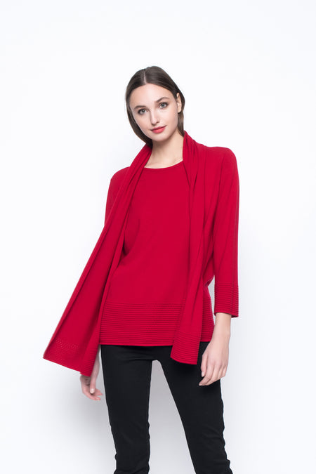 Long Sleeve Layered Blouse