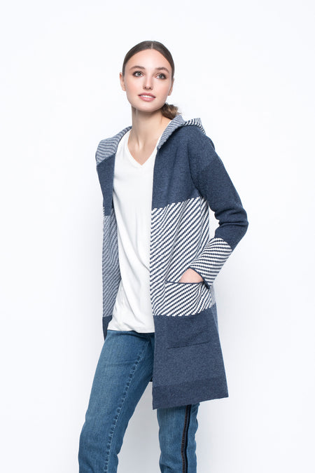 Quilted Sweater Knit Jacket