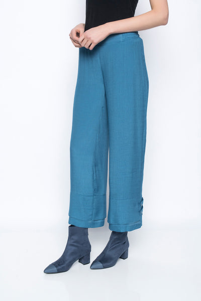 Pant With Button Tab Detail