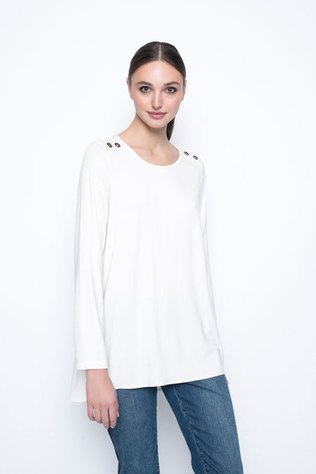 ¾ Sleeves Top