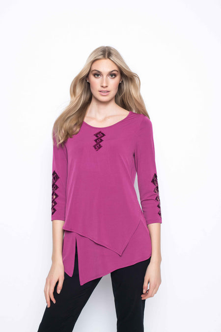 Ruffle Sleeve Top with Tie