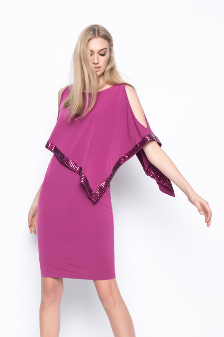 Chiffon Combo Layered Dress