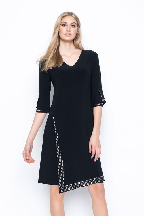 Rhinestud Embellished Dress