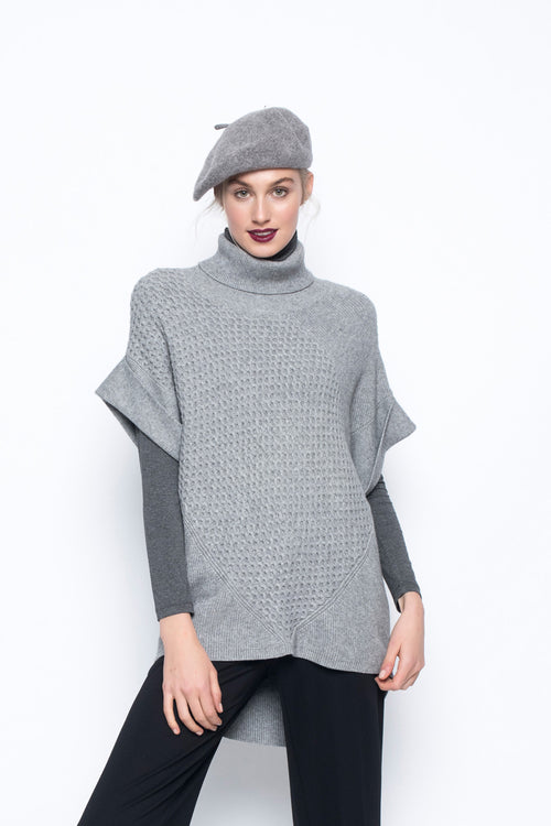 Loose Fit Sweater with Turtleneck