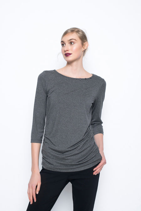 V-Neck Relaxed Fit Top