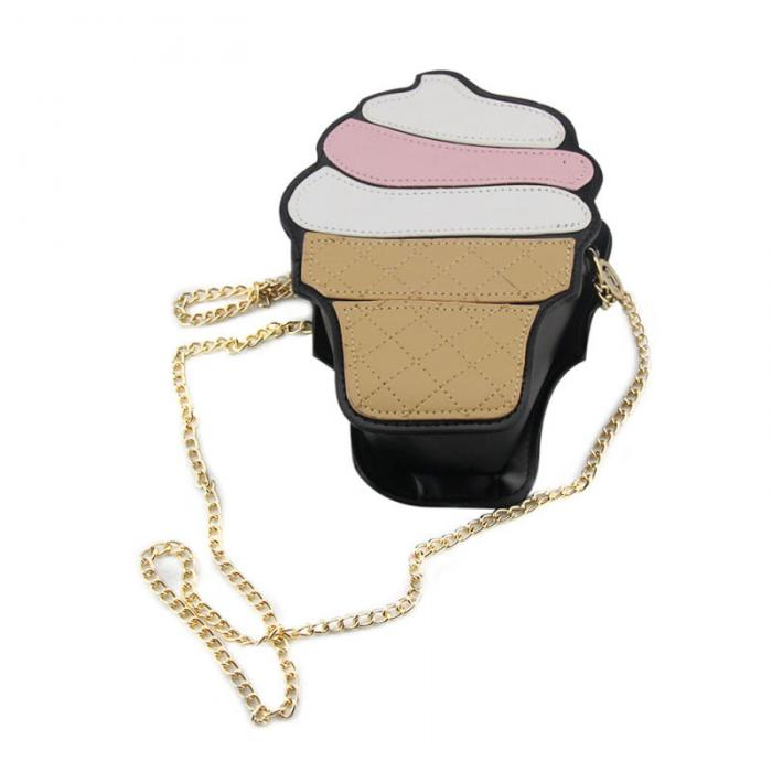 Funny Ice Cream and Cupcake Satchel