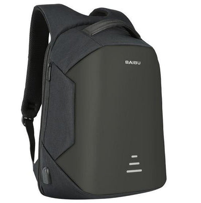 Waterproof Anti-theft USB-Charging Laptop Backpack