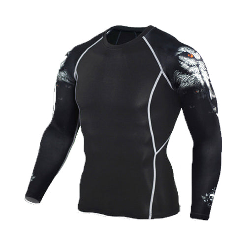 Dark Wolf Rash Guard - Canadian BJJ Shop