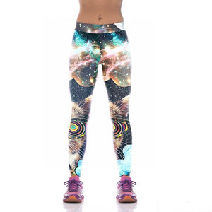 Galaxy 3D Print Leggings