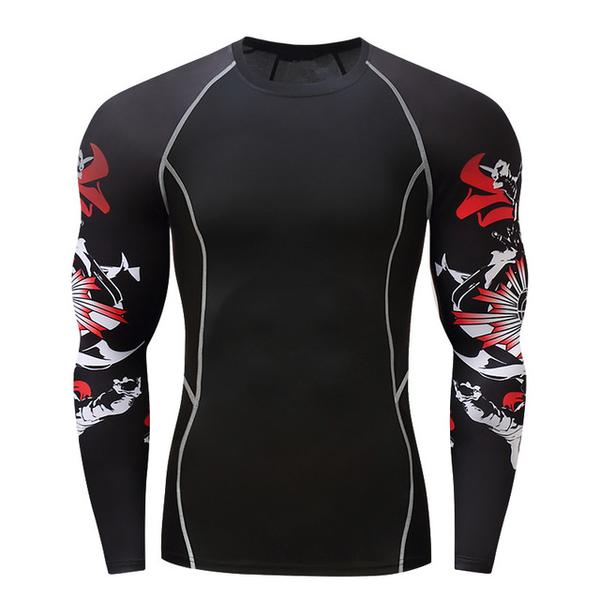 Japan Performance Rash Guard - Canadian BJJ Shop